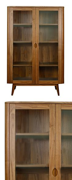 The Ballantine Cabinet offers a return to a timeless era of American furnishings. You'll love the simple, stunning profile of this versatile piece, as it will serve you well in a dining area as well as...  Find the Ballantine Cabinet, as seen in the Mid-Century by the Book Collection at http://dotandbo.com/collections/mid-century-by-the-book?utm_source=pinterest&utm_medium=organic&db_sku=114232