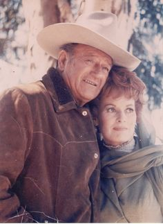 John Wayne & Maureen OHara