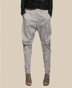 Pure Cotton Drop Crotch Pants in Tapered Fit Drop Crotch Pants, Parachute Pants, Kids Fashion, Sweatpants, Sweet, Fitness, Clothing, Cotton, Closet