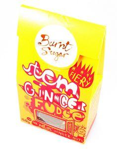 Burnt Sugar Stem Ginger Fudge
