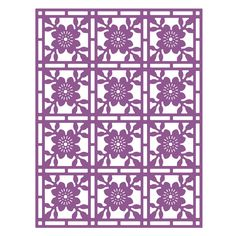 Top Dog Dies Flower Mosaic A2 Mat