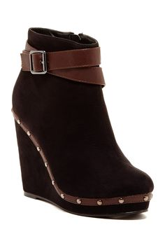 Shannon Wedge Bootie by Red Circle on @nordstrom_rack