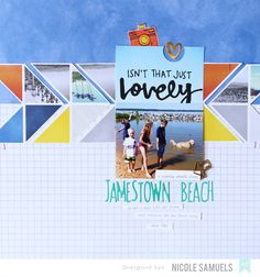 Layout: New Amy Tangerine Finders Keepers Collection Inspiration