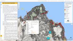 Palermo, Piano per l'Assetto Idrogeologico (P.A.I.) mappa delle pericolosità e rischio geomorfologico, realizzata con Qgis