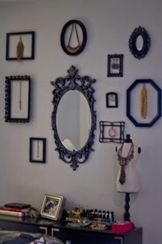 framed jewlery