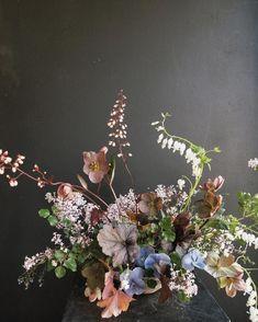 Visit Us For More Wedding Flowers & Bridal Bouquet Inspirations Wedding floral arrangement Wedding Flower Arrangements, Floral Centerpieces, Wedding Centerpieces, Floral Arrangements, Tall Centerpiece, Wedding Tables, Deco Floral, Arte Floral, Floral Design