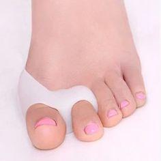 Soft Hallux Valgus Protector Bicyclic Bone Thumb Orthotics Braces To Correct Daily Silicone Foot Big Toe Separator Pedicure
