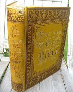 Antique book The Child's Bible lovely by LittleBeachDesigns, $110.00