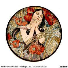 art_nouveau_cameo_vintage_alphonse_mucha_art_poster-rde4e95743b434fa0b8ae16bcdba65fdb_i3dn4_8byvr_1024.jpg (1104×1104)