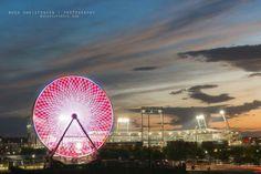 Ferris wheel in Omaha Nebraska during College World Series year 2016