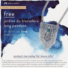 FREE necklace! click and find out how you can win this beautiful piece of jewelry today! leave me a message