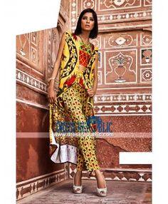 Designer Pakistani Dresses Online Essencia Lawn 2015