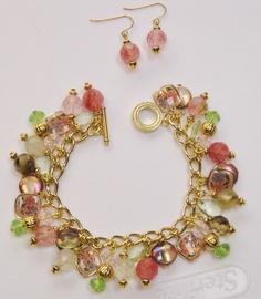I'm In A Pink Mood Charm Bracelet