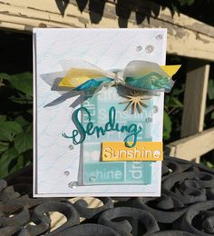 Love this card created by Susan using new Simon Says Stamp from the Splash of Color release