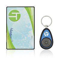 Incutex Schlüsselfinder mit Transmitter im Kreditkarten