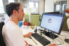 After reading how to choose a material for your 3D printing design you're now ready to bring your design to life. Bert, our Product Designer, will lead you to the right direction!