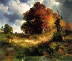 Cave to Canvas, Thomas Moran, Autumn, c. 1893-97