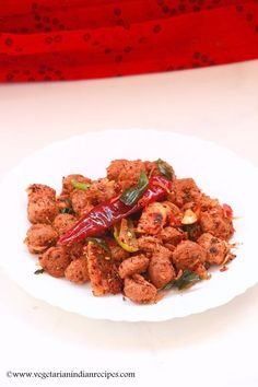 soya chunks pepper fry is a very easy to make and tasty side dish for rice made with soya chunks or meal maker. Soya chunks pepper fry can also be had as a snack.
