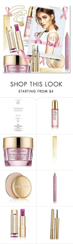 """""""Find a Cure!"""" by wanda-india-acosta ❤ liked on Polyvore featuring beauty, StyleNanda and Estée Lauder"""