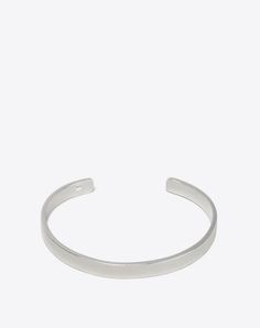 MAISON MARGIELA 11 Bracelet U Bracelet logo en argent f