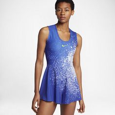 NikeCourt Power Women's Tennis Romper Tennis Uniforms, Tennis Gifts, Peak Performance, I Work Out, Nike, Powerful Women, Rompers, Clothes, Shopping