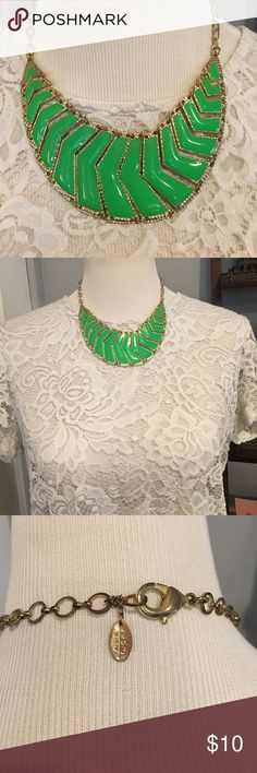 Neon Green Statement Necklace Perfect for anyone who loves bright colors! Jewelry Necklaces