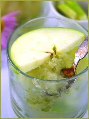 GREEN AND GREEN APPLE SORBET