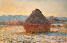 Meule de  Claude Monet
