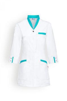 Scrubs Outfit, Scrubs Uniform, Chef Dress, Salon Wear, Blouse Nylon, Beauty Uniforms, Stylish Scrubs, Doctor Scrubs, Doctor Coat