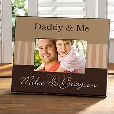 Father's Day! Daddy & Me Frame
