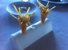 Fish & Chips by Paco Perez en Miramar, Llança