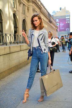 High-rise Vintage Denim / Yüksek Belli Blue Jean | Butti'nin Günlüğü