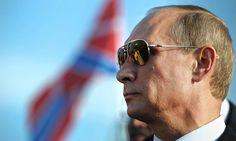 "Президент Владимир Путин.  Photograph: Alexey Druginyn/RIA Novosti/EPA. ""Russia's Black Hole"", by Mikhail Shishkin, one of the best modern Russian writers. He now lives in Switzerland."