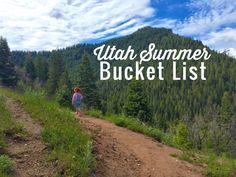 Utah Summer Bucket List--the very best stuff to do in Utah this summer with kids