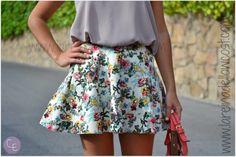 Flores faldas flores!!!