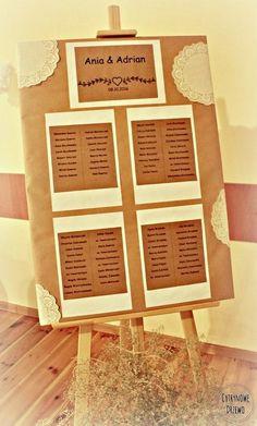 Moje rustykalne wesele cz. II - papierowo | cytrynowe drzewo