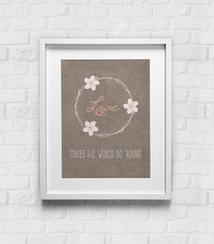 Love Print Inspirational Print Love Poster by GulfRoad on Etsy