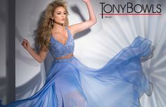 Tony Bowls TB11611 - Periwinkle - Size 6 -Available at Stella's Bridal & Evening Collections