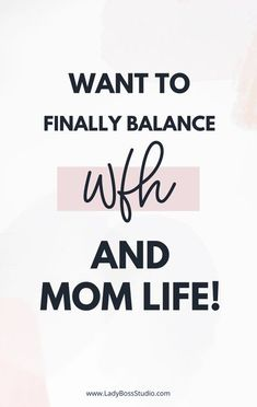 Want to finally balance WFH and Mom life? We have provided some top tips to help you improve your work-life balance when working from home. It all starts with routine and expectations. And how do… More