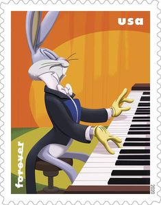 Bugs Bunny, Stamps, Decor, Seals, Decoration, Postage Stamps, Decorating, Stamp, Deco