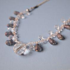 Smoky Violet Necklace