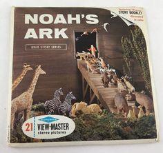 Noah's Ark View Master Reels with Booklet 1965, Sawyers, 3 reels, B851   | eBay