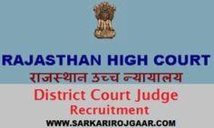 Rajasthan High Court Class IV #Recruitment 2018