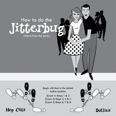 Jitterbug!  This is the next dance I want to learn!