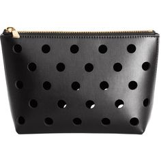 Perforated Makeup Bag $9.99 (€27) ❤ liked on Polyvore featuring beauty products, beauty accessories, bags & cases, bags, purse makeup bag, toiletry kits, makeup purse, makeup bag case and make up purse