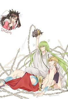 How der u tach ma hubby Manga Anime, Anime Art, Anime Boys, Gilgamesh And Enkidu, Fate Stay Night Anime, Fate Anime Series, Fate Zero, Best Waifu, Busa