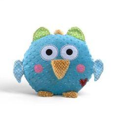 Amazon.com: Gund Baby Chester Happi Owl 10 Plush by Dena Design: Toys & Games