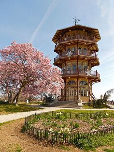 the Pagoda in Patterson Park, Baltimore MD