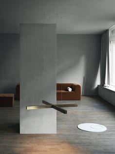 X model lamp - Anour at Kinfolk gallery. Copenhagen 2017. Photo: Jeppe Sorensen, Anne Marie Jo. Styling: Kate Wood