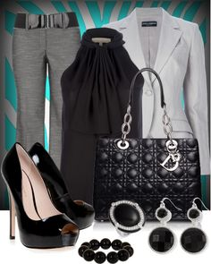 """""""The Professional Look"""" by anna-campos ❤ liked on Polyvore"""